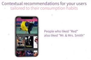 Personalized recommendations based on their tastes